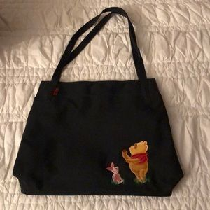 Disney black tote back